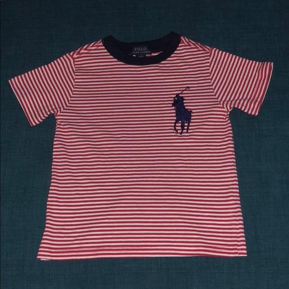 c9d56bb588 Polo by Ralph Lauren Shirts & Tops | Ralph Lauren Redwhite Striped ...